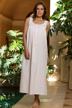 5a41225e9e Queen Annes Lace, Romantic Lace, Couture Collection, Nightwear, Delicate,  San Francisco, White Dress. Eileen West