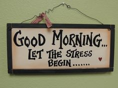 While employee stress cannot be completely resolved, there are practical, effective steps that can be taken to alleviate the problem. Here are eight simple tips for reducing employee stress. Good Morning Quotes For Him, Good Morning Images, Funny Shit, Fun Funny, Dealing With Stress, Stressed Out, School Memes, Cortisol, Stress Relief