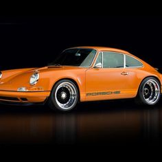 Porsche 911: tuned by SINGER, Series O-F, years 63-73.  Exquisite!