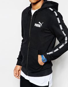 Puma Hoodie With Taping