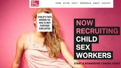 Chrysalis Network Lures Children to be Sexually Abused on SexWork4U Website