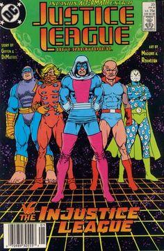 Justice League International #23.