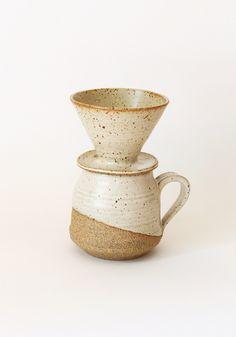 Sue Kang Ceramic Coffee Pour Over Set