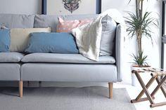 Ikea Soderhamn Sofa in Mid Century Legs - Comfort Works