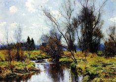 Landscape by Hugh Bolton Jones