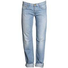 twenty8twelve - JONNY Boyfriend-Jeans mit Destroyed-Effekten in... ($46) ❤ liked on Polyvore featuring jeans, pants, bottoms, blue, pantalones, boyfriend jeans, boyfriend fit jeans, distressed boyfriend jeans, twenty8twelve and distressing jeans