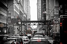 """Chicago Already Has a """"Traffic Disaster"""" – Transit and Bikes Are the Solution"""