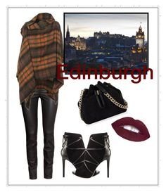 """Rock your tartan"" by julie-lg on Polyvore featuring H&M, Vivienne Westwood Anglomania, GUESS and Karen Millen"
