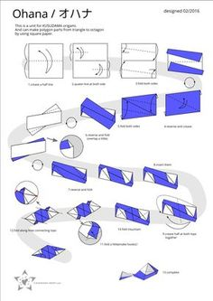 Kusudama Origami diagrams and tutorials Origami Yoda, Origami Ball, Origami Dragon, Origami Fish, Diy Origami, Origami Paper Folding, Modular Origami, Origami Instructions, Origami Tutorial