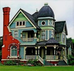 Victorian home. (64 pieces)
