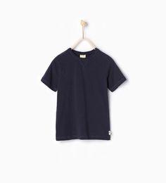 Camiseta básica-CAMISETAS-NIÑO | 4-14 años-NIÑOS | ZARA España