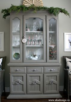 painted dining hutch - Google Search