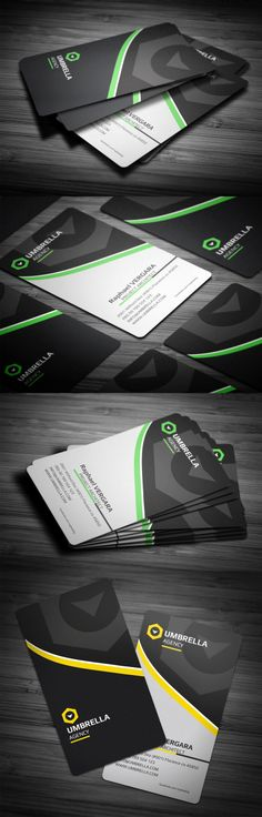 Creative business card design ideas for corporate #BusinessCard #Design #Graphics #Illustrator