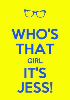 New Girl! Who's that girl, it's Jess!  Even though it's a ridiculous theme song, I love it!