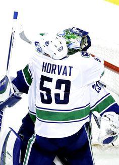 Bo Horvat & Jacob Markstrom Vancouver Canucks