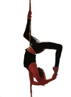 Midnight Black Grip Pole legging Sticky pole dance leggings