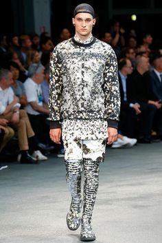 Givenchy Spring 2015 Menswear - Collection - Gallery - Look 1 - Style.com