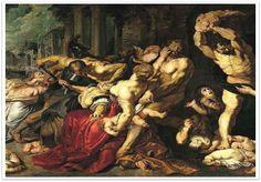 유아 대학살, 페테르 파울 루벤스, 1611