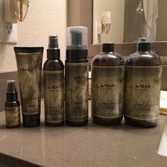 Complete WEN hair care set- UNOPENED! AT LEAST a three month supply of products! Brand new, still packaged, complete Wen hair care set. Includes: 2 16oz cleansing conditioners, 1 nourishing mousse, 1 anti-frizz styling creme, 1 replenishing treatment, 1 straightening smooth gloss. Let me know if you have any questions! Wen Accessories Hair Accessories
