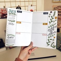 Bullet Journal Weekly Spread, Bullet Journal Writing, Bullet Journal 2020, Bullet Journal Aesthetic, Bullet Journal Ideas Pages, Bullet Journal Layout, Bullet Journal Inspiration, Bullet Journals, Bullet Journal Timetable