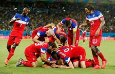 USA Soccer Team - First game win in World Cup 2014