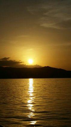 Italy, Sardegna - Sunset