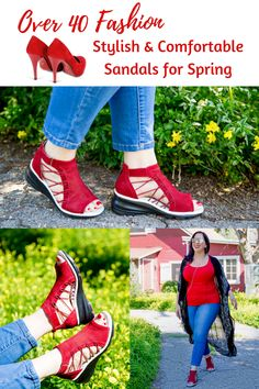 @jambufootwear sandals are perfect for Spring! Use ROMYRAVES19 for 15% off #ad #jambufootwear #jambuandco