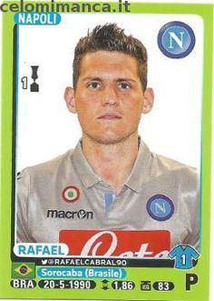 Calciatori 2014-2015: Fronte Figurina n. 316 Rafael