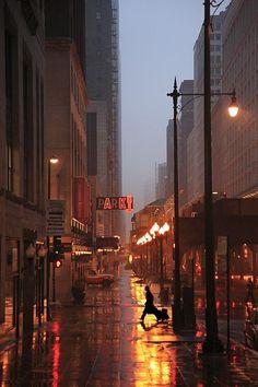 la beauté de la pluie