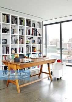 Contemporary study Contemporary Home Offices, Contemporary Style, Study Space, Interior Photography, Change, Desk, Stock Photos, Furniture, Home Decor