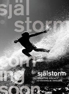 själstorm creative agency. stockholm. sweden - coming soon