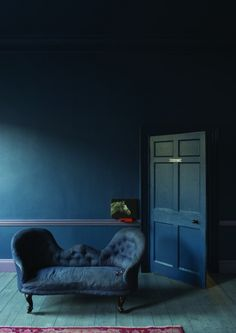 Decorating with Inky Blue - How to add this dramatic colour into your home and make it work for you