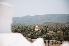 Sat Taw Yar Pagoda from the White Pagoda in Mingun Stuff To Do, Things To Do, Mandalay, Day Trip, Paris Skyline, Travel, Blog, Things To Make, Viajes