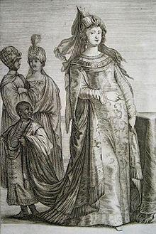 Vera Effigies Turcorvm Imperatoris Ibrahim Filii, Et Sultanæ, Eiusdem Matris (1707).jpg