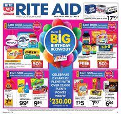 Rite Aid Weekly Ad Circular April 30 - May 6 United States #grocery #RiteAid