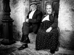 """Still together"". Sardinia old couple"