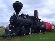 Steam Engine Trains are amazing.  Rode the one in Laona several times