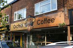 the, orchid, coffee, bar, sign, by, Dave, McDonald, printed, on, Dibond