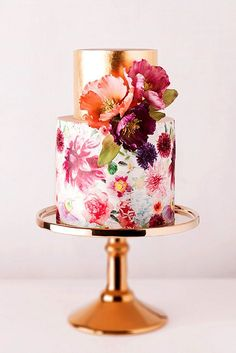 24 Exquisite Mini Wedding Cakes For Your Wedding ❤ Here wonderful collection of…