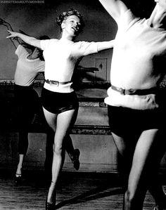 """Marilyn Monroe photographed by J.R. Eyerman."""