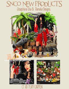 Carmen designs: Pirata