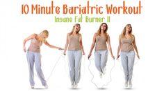 10 Minute Bariatric Workout. Insane Fat Burner II