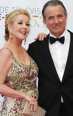 Great couple Nikki and Victor Newman