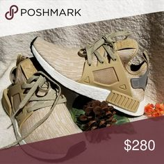 Xx New Adidas NMD Linen Size 5.5 New gorgeous Adidas NMD Linen. This is men size 5.5. Will not come with box, but receipt will be included. Never worn. Selling because I bought the wrong size for myself. These will fit women size 7.5 = men 5.5. adidas Shoes Sneakers
