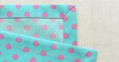 簡単きれい! 布の角をスッキリ仕上げる「額縁仕立て」の方法 - 暮らしの豆知識 | tetote-note(テトテノート)
