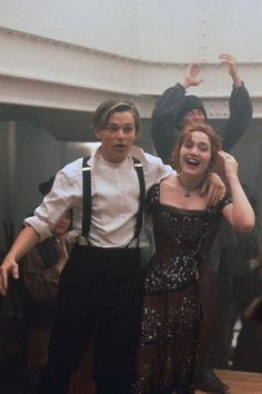 Leonardo DiCaprio and Kate Winslet.... why must they be so puzzle piece