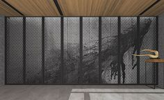 Interior Walls, Interior Lighting, Interior Design, Screen Design, Wall Design, Japanese Steakhouse, Chinese Element, Landscape Concept, Qingdao