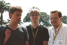 Cannes 1998: DoP Martin Farkas (left), director Dmitri Popov with me at the Croisette! Isn't it funny that at that time we all were shooting movies on 35mm. That were analog times and it has been a long time since I pyhsically grabed a photo and had to scan it. I do not want to miss the moments. I was a great time and thanks to all the joined my way! My Way, Cannes, I Am Awesome, Thankful, In This Moment, Times, Couple Photos, Funny, Movies