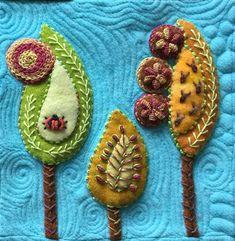 Best 25+ Wool applique ideas on Pinterest | Wool applique ...