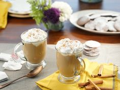 Chai Tea with Spiced Rum recipe from Valerie Bertinelli via Food Network